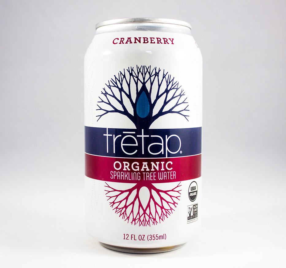 Tretap Cranberry - Delicious Organic Tree Water Flavors Made in Vermont