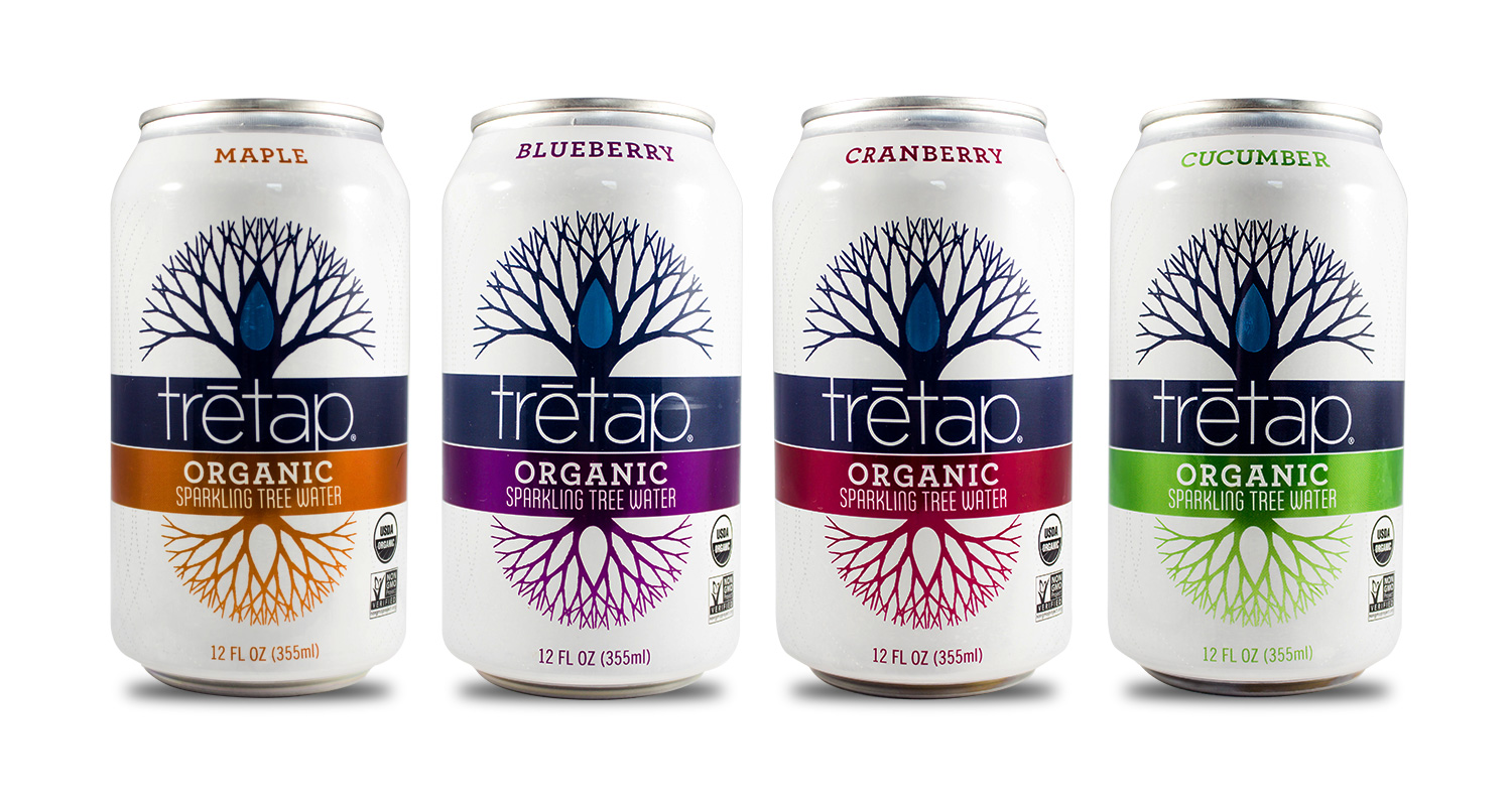 trētap Products - Delicious Organic Tree Water Flavors Made in Vermont